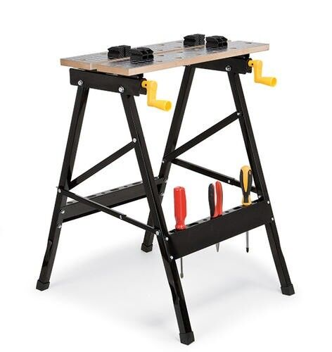 New 250 Lbs Capacity Portable Folding Workbench Table Clamping Capability Ebay