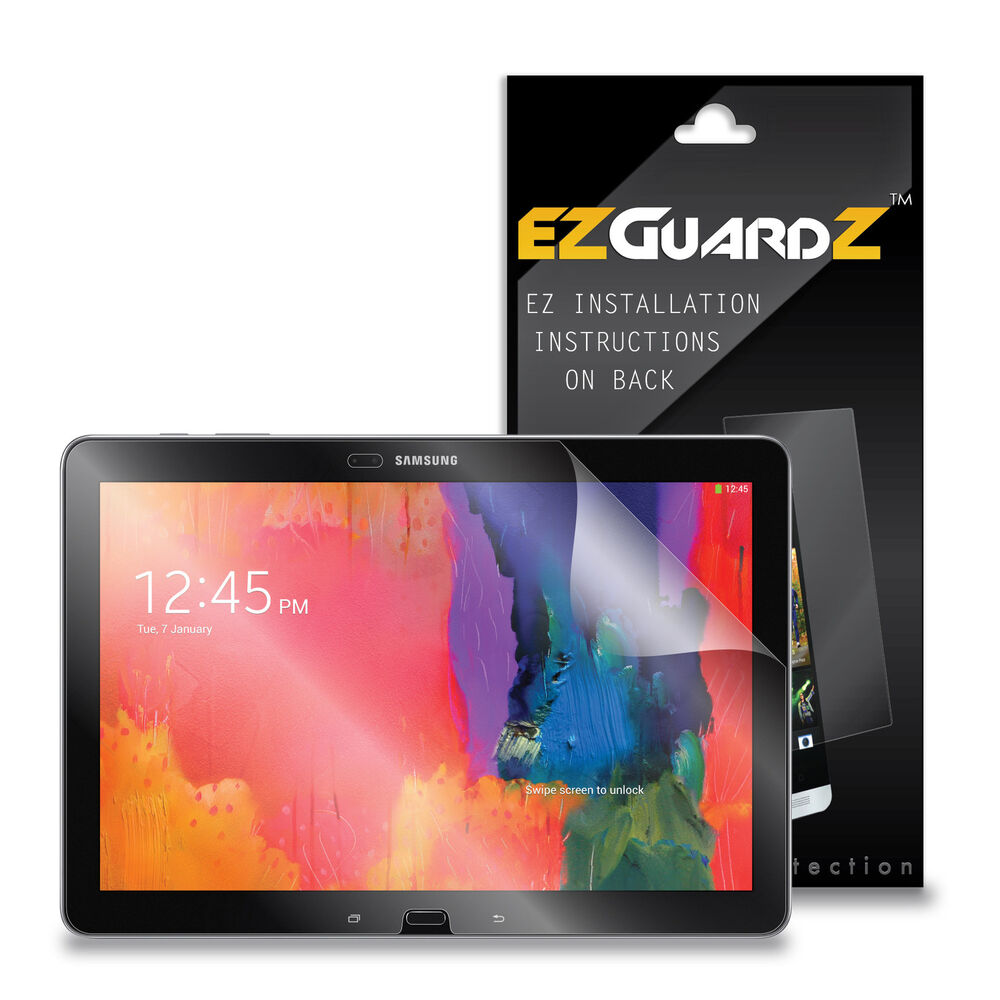 """2X EZguardz Screen Protector 2X For Samsung Galaxy Note Pro 12.2/"""" Tablet Clear"""