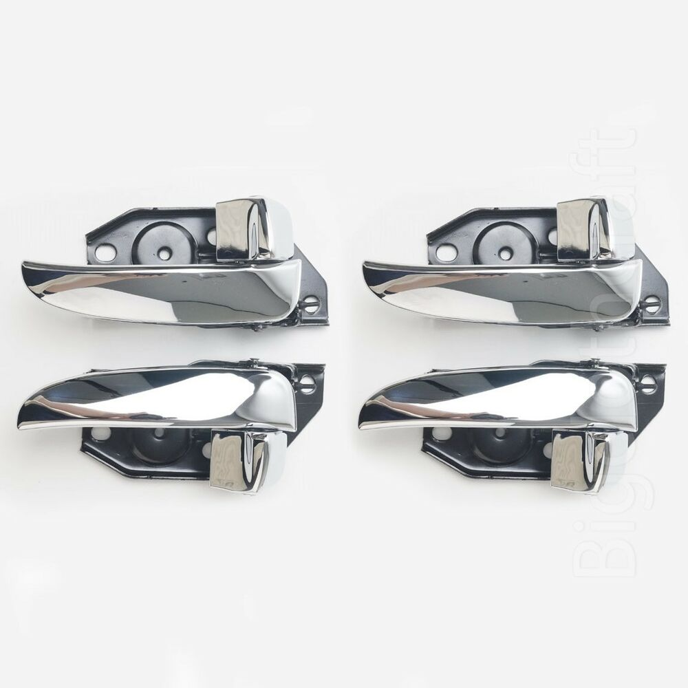 New Oem Inside Door Handle Front Rear Set 4pcs For Hyundai Sonata 2001 2005 Ebay