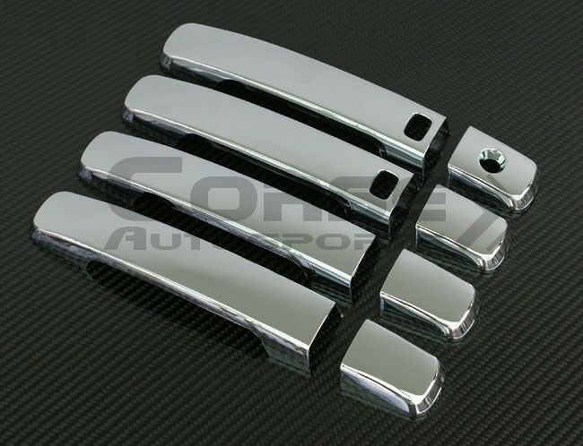 CHROME DOOR HANDLE COVER WITH SMARTKEY FOR 2007-2012 ...
