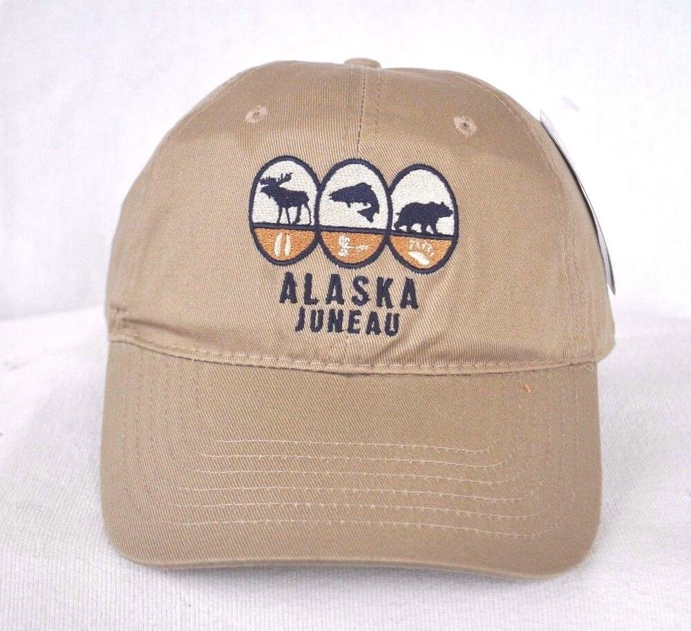 Juneau alaska fly fishing hunting ball cap hat ouray for Fishing ball caps