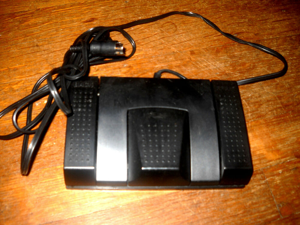 transcription machine with foot pedal