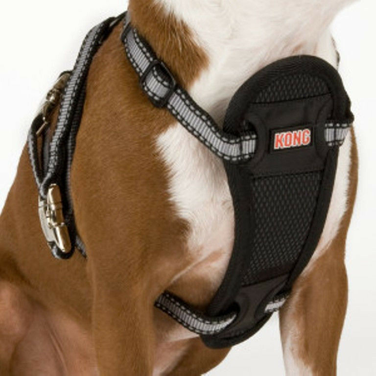 Dog Car Safety Harness >> KONG Adjustable Harness With Seat Belt Attachment - XS,S,M,L -NEW | eBay