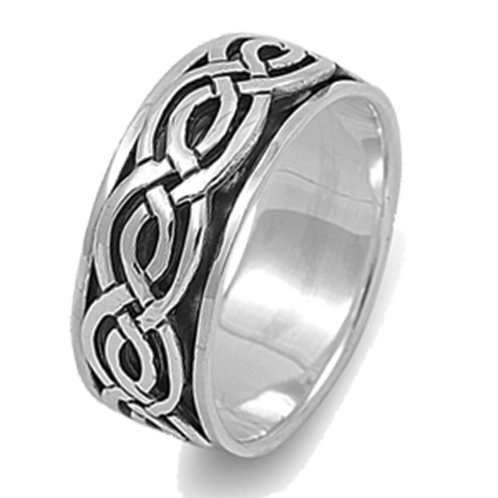 Men Or Woman Unisex Infinity Crossover Celtic Spinner