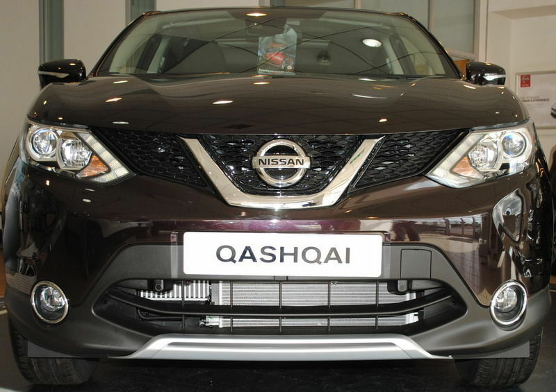 nissan qashqai 2014 front styling plate new genuine ke5404e50s ebay. Black Bedroom Furniture Sets. Home Design Ideas
