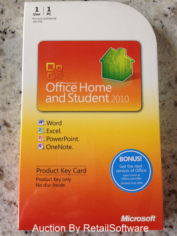 microsoft office home and student 2010 key card word. Black Bedroom Furniture Sets. Home Design Ideas