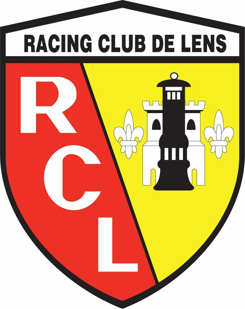 rc lens france football soccer car bumper sticker decal 4. Black Bedroom Furniture Sets. Home Design Ideas