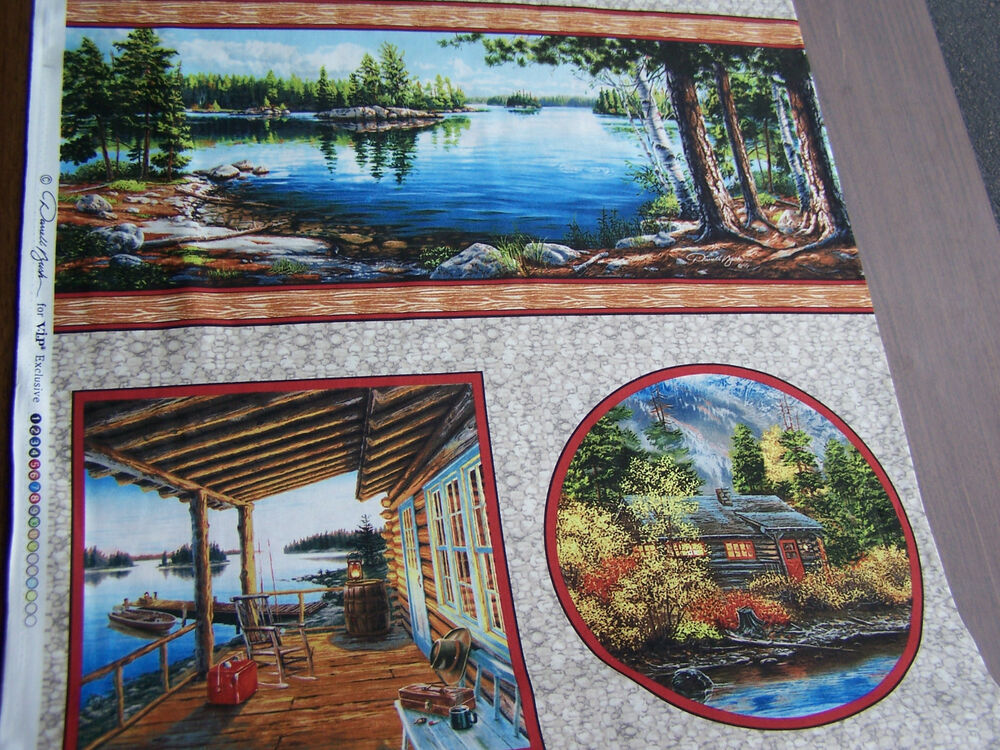 Vip Exclusive Lake House Quilt Sew Fabric 45392 Ab Ebay