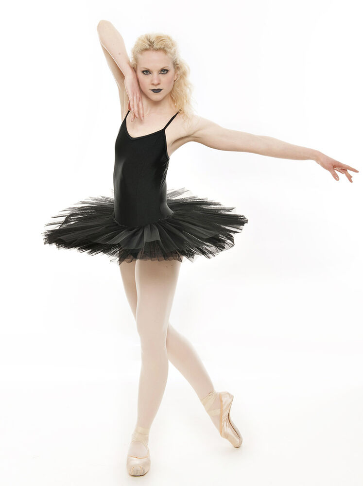 Black Swan Halloween Ballet Fancy Dress Costume Tutu ...