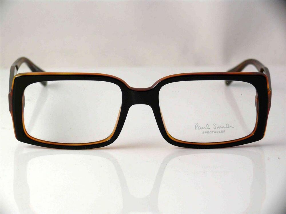 Frame Glasses Made In Italy : PAUL SMITH GLASSES BLACKMORE FRAMES BLACK BROWN HAND MADE ...