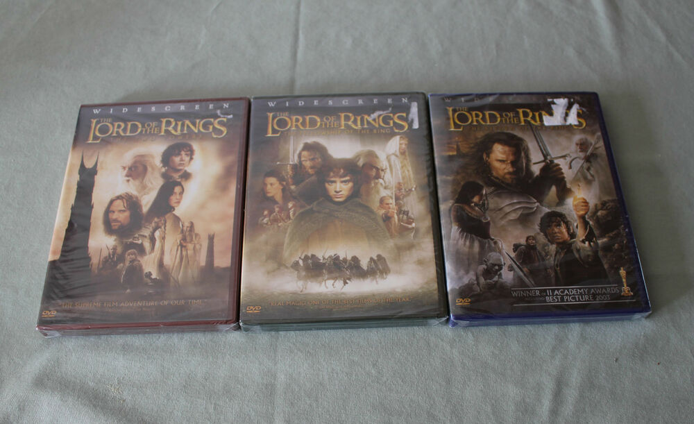 the lord of the rings trilogy box set 6 discs blu ray