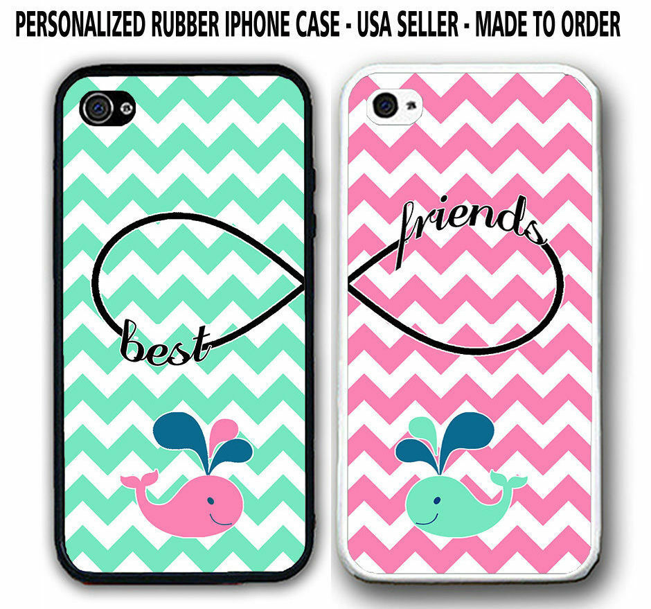 165 Best Wallpapers Phone Cases Images On Pinterest: MINT MIX PINK CHEVRON CUTE WHALE BFF BEST FRIENDS CASES