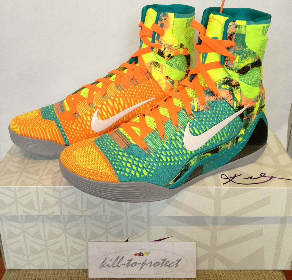 separation shoes d91e6 b3a3b Details about NIKE KOBE 9 IX ELITE INFLUENCE Sz US12 UK11 HTM 630847-300  MASTERPIECE Prelude