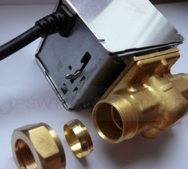 2 or 3 port motorised valve replacement for honeywell 22mm for Honeywell valve motor replacement