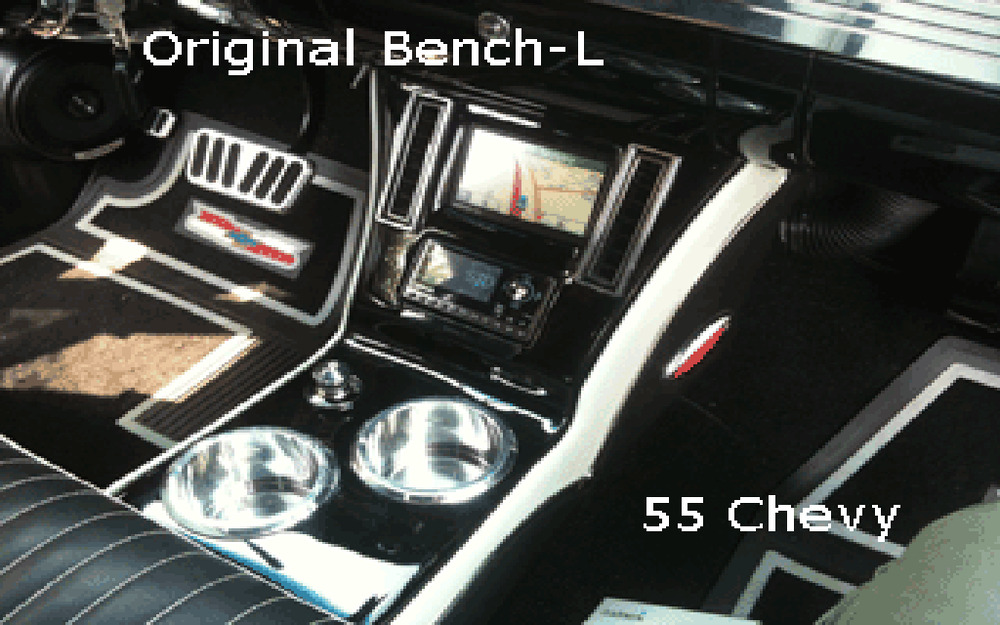 55 56 57 Chevy Bench Seat Console 2 Ebay