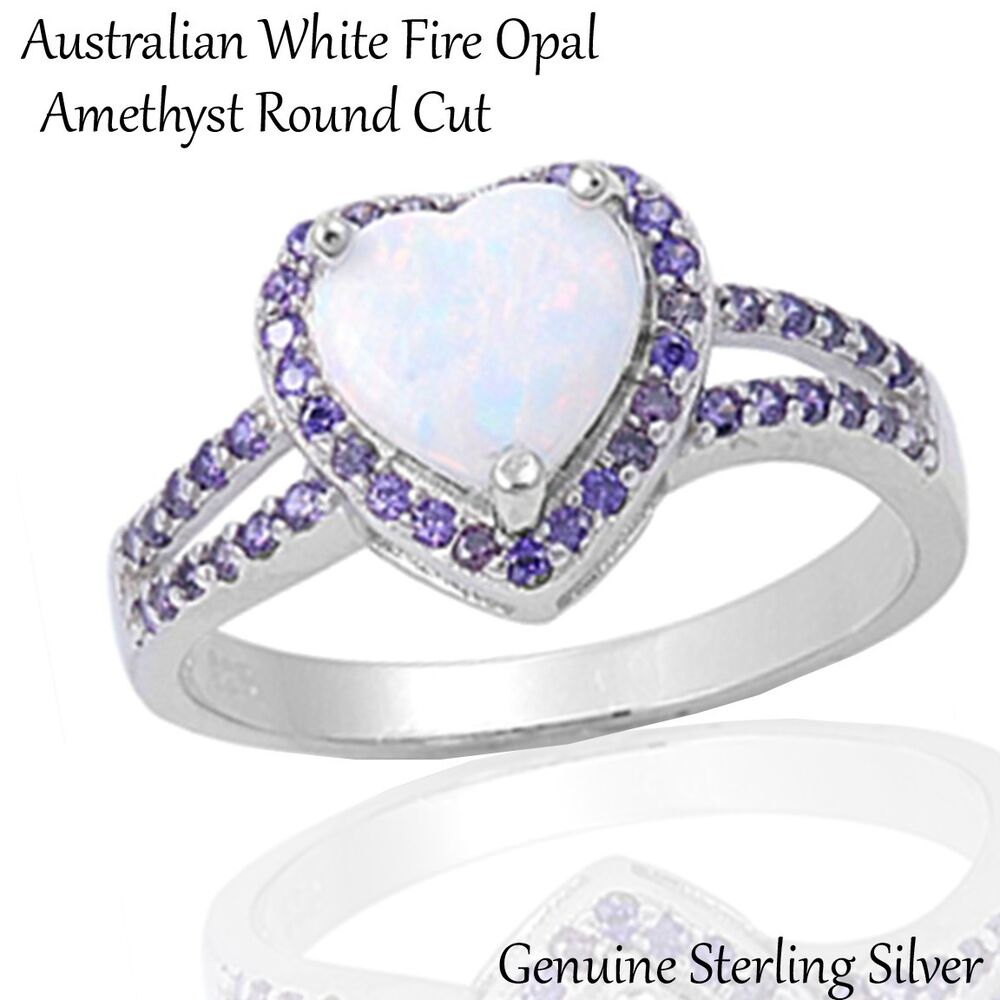 Opal Ring With Daisies