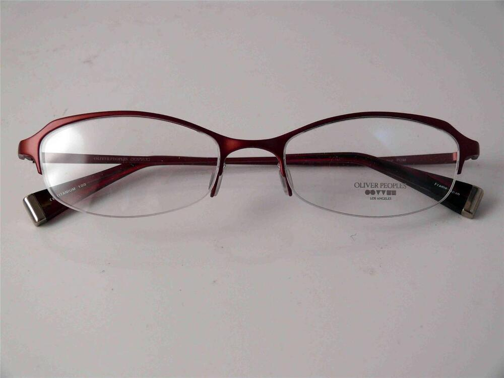 Eyeglass Frames Made In Japan : OLIVER PEOPLES GLASSES EYEWEAR INTRIGUE POM TITANIUM FRAME ...