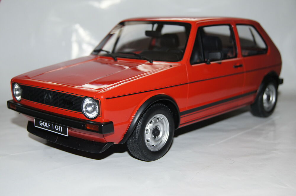 vw golf i gti rot 1 12 ottomobile neu ovp g013 ebay. Black Bedroom Furniture Sets. Home Design Ideas