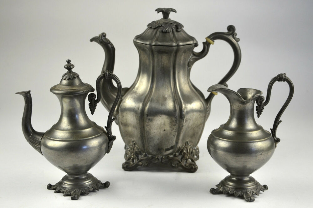 how to clean silver plate teapot