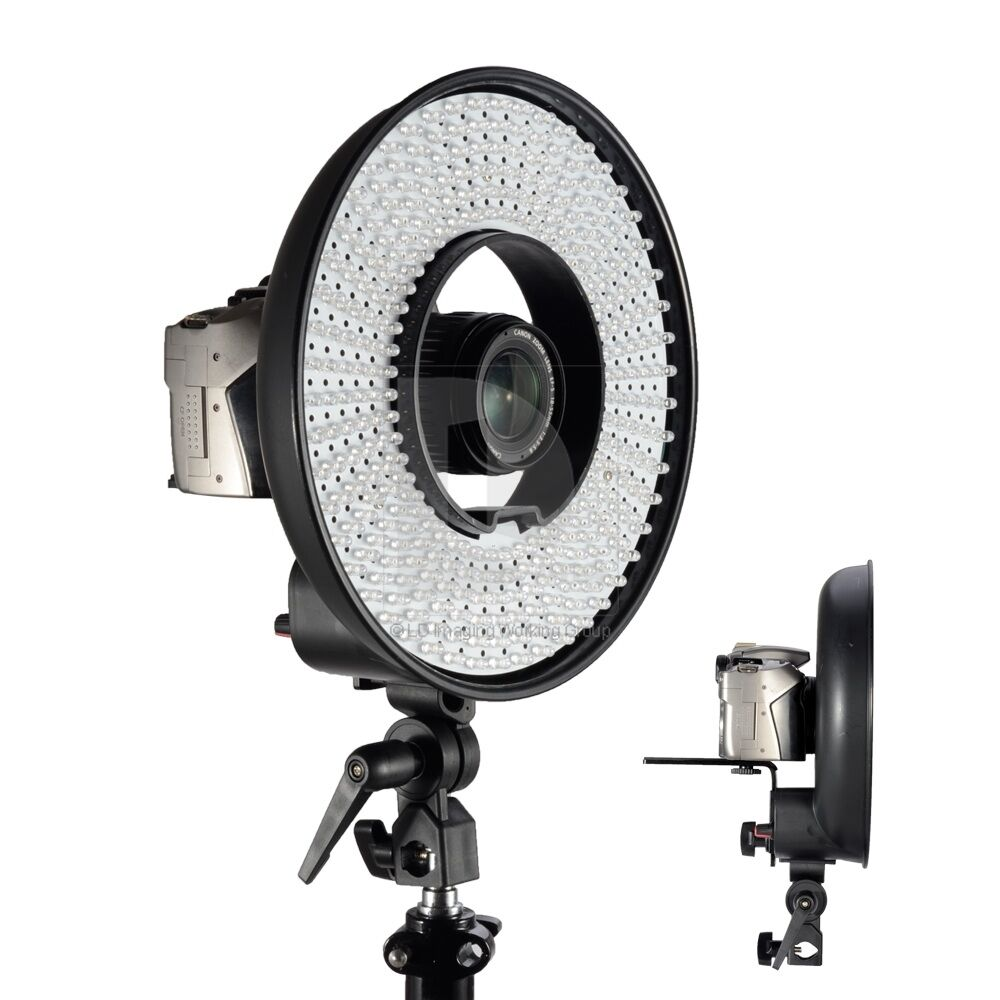 R-300 LED Ring Lights 7000K Lighting Video Film Continuous