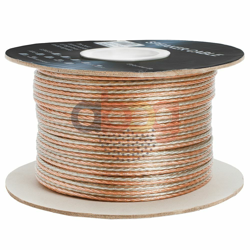 What Gauge Wire For Speakers : Ft feet true ga gauge awg speaker wire cable car