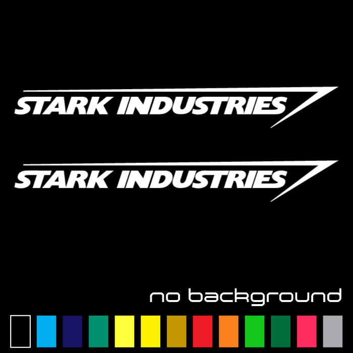 2x stark industries sticker vinyl decal marvel iron man avengers 2x stark industries sticker vinyl decal marvel iron man avengers car window ebay colourmoves