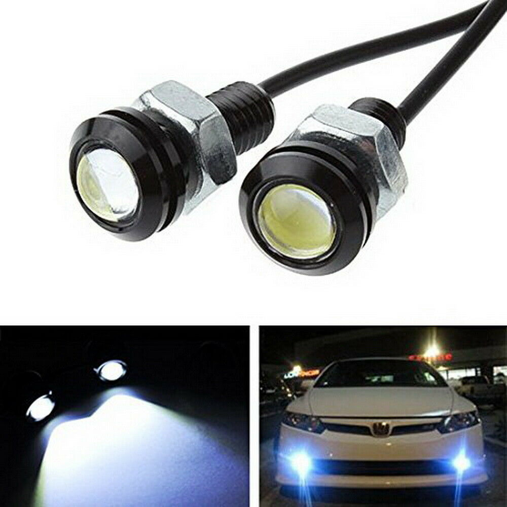 Super Bright Xenon White 2w Led Eagle Eye W Screw For