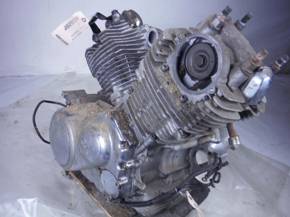 1996 yamaha virago 750 engine motor transmission for parts
