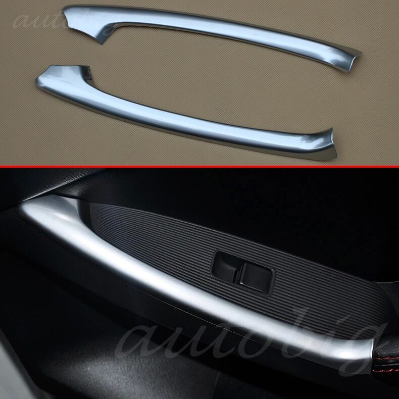 Chrome Interior Rear Door Handle Cover Armrest Trim For Mazda Cx 5 2012 2016 Cx5 Ebay