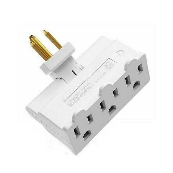 3 prong surge protector swivel outlet ebay