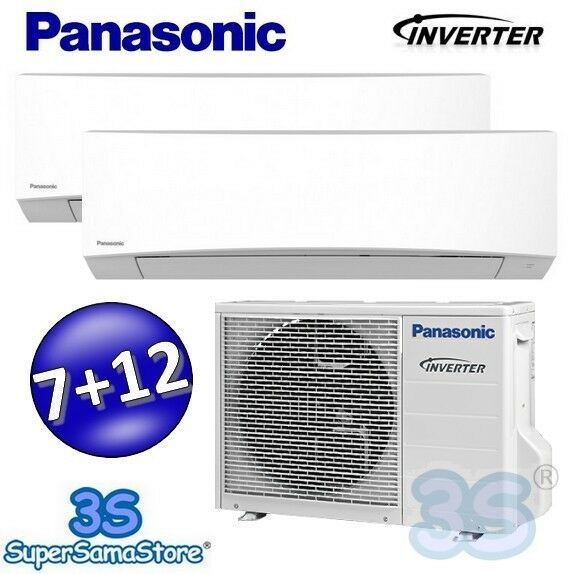 3s neu duo multi split inverter panasonic mre rke klimaanlage klima 1 7 2 7 kw ebay. Black Bedroom Furniture Sets. Home Design Ideas