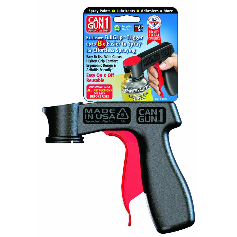Can Gun1 Full Grip Trigger Spray Can Tool Recycled Plastic
