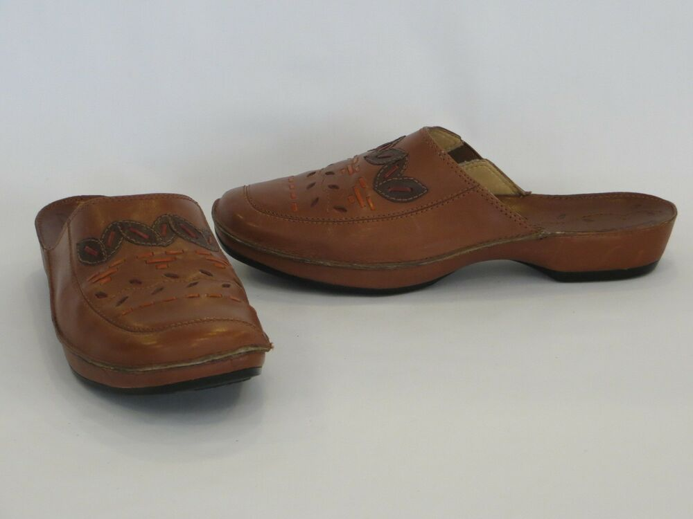 Womens Clarks Bendables Shoes Size M New Tan Brown