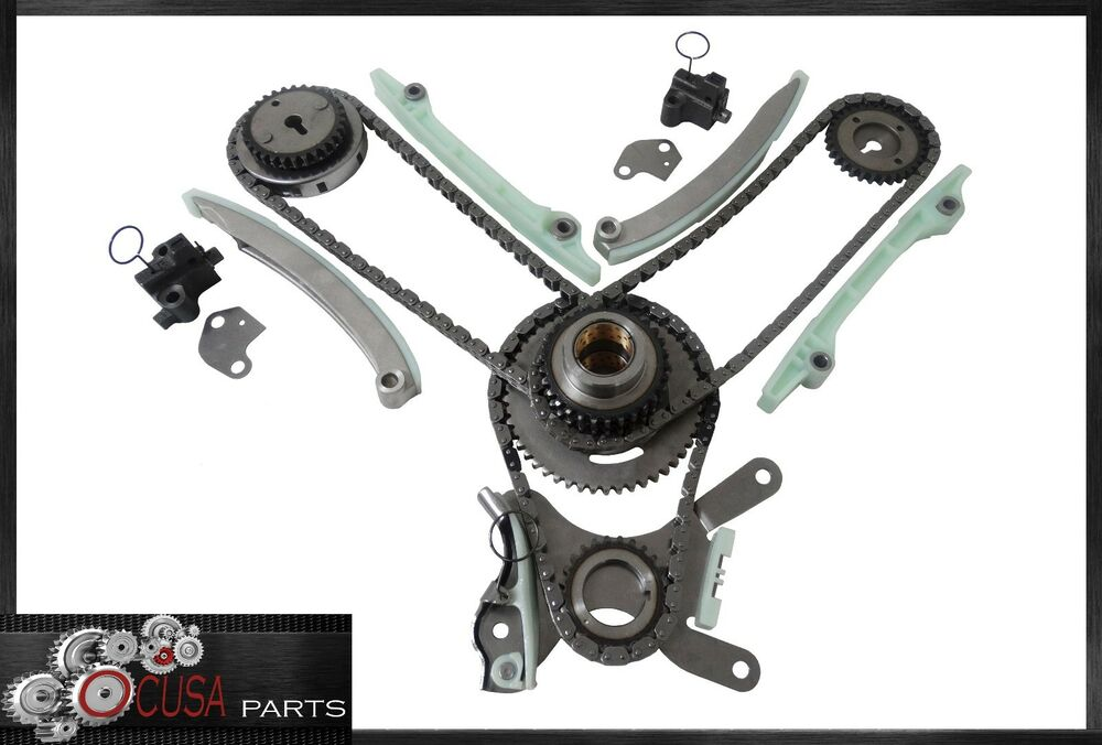 engine timing chain kit for dodge dakota 02 07 durango 03 08 ram 1500 v8 4 7l ebay. Black Bedroom Furniture Sets. Home Design Ideas