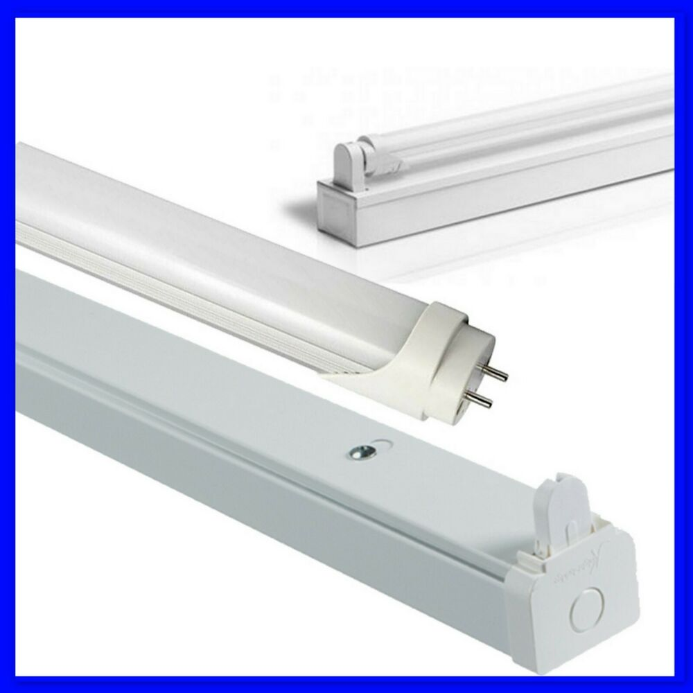 4ft LED Single Tube Strip Light Batten 18w = 36w 1200mm