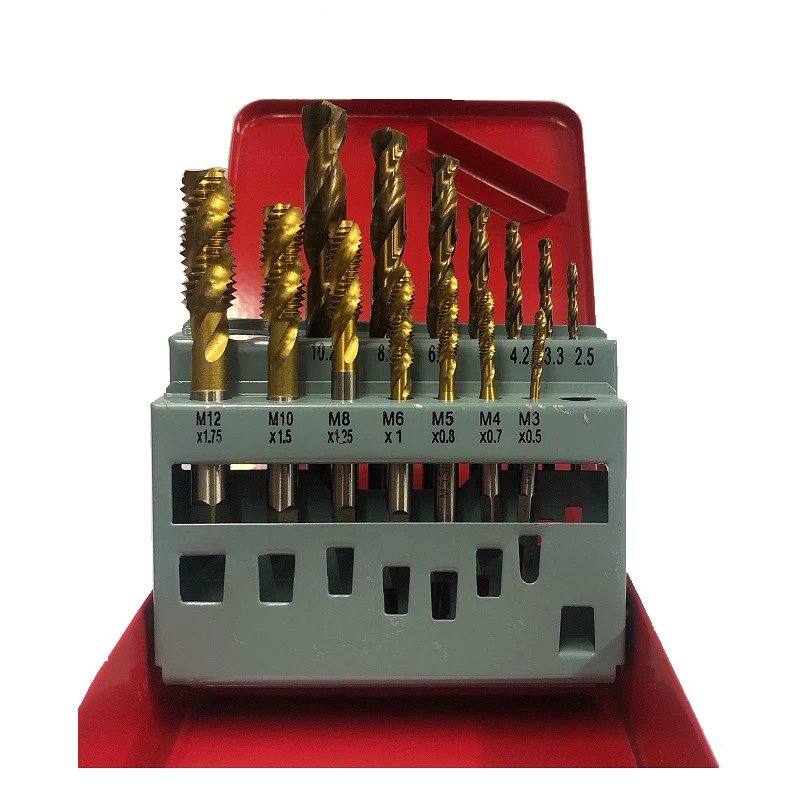 Cobalt Drill Bit Set >> METRIC TAP AND DRILL SET SPIRAL POINT NEW ENGINEERING ...
