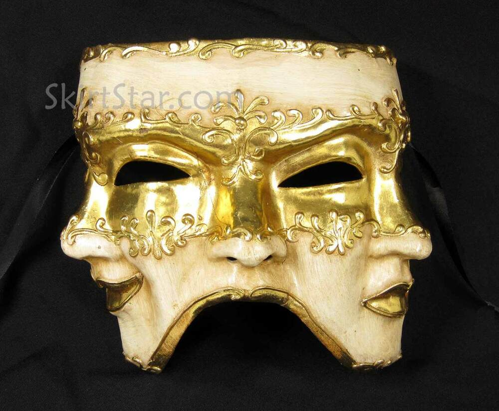 Wall Decoration With Masks : Venetian full face mask masquerade paper mach?