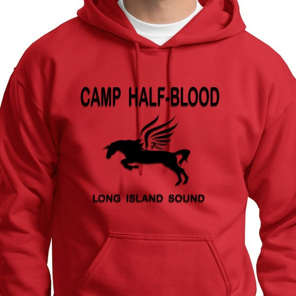 Camp half blood percy jackson movie t shirt demigod training hoodie