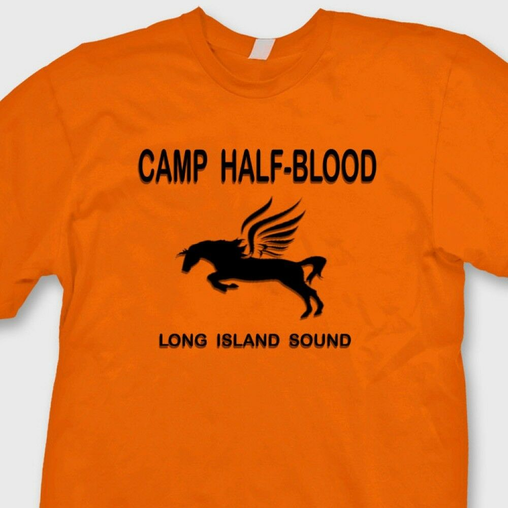 Camp half blood t shirt deals on 1001 blocks for Custom t shirts long island ny