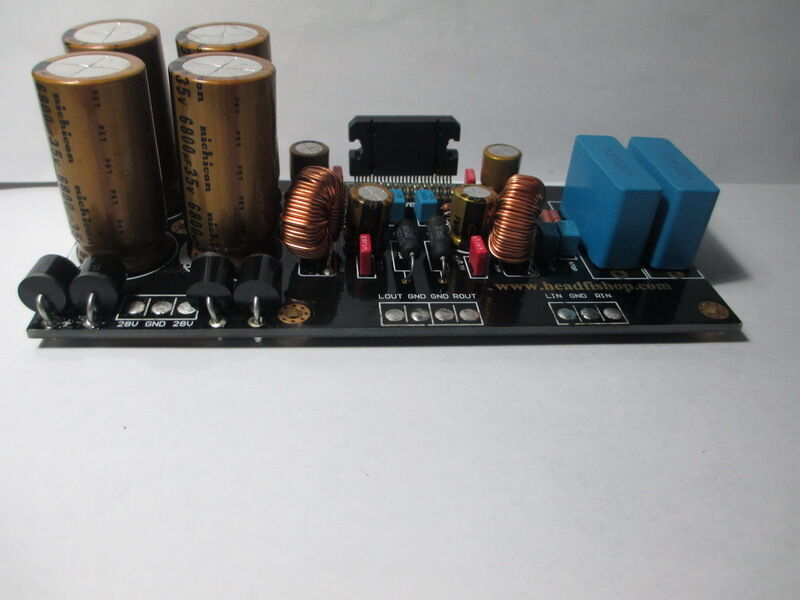 How To Build Audio Power Amplifier 60w With Tda7294