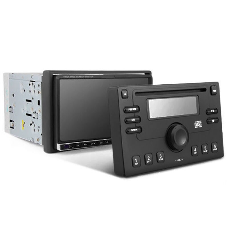 double din dvd radio stereo dummy security face cover for. Black Bedroom Furniture Sets. Home Design Ideas