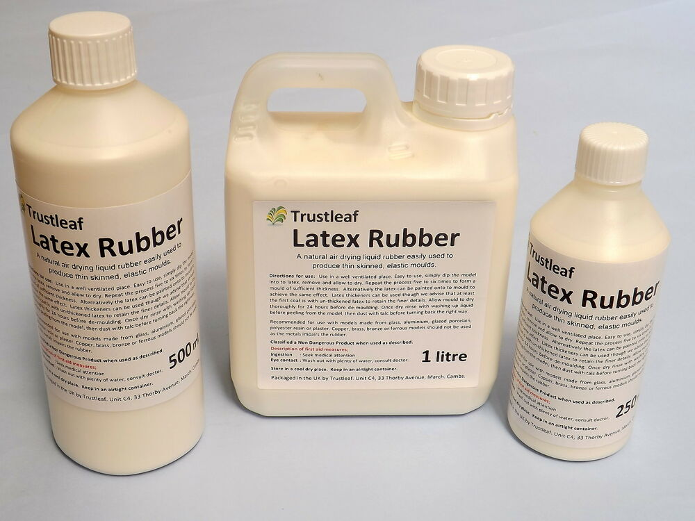 Making latex rubber mold