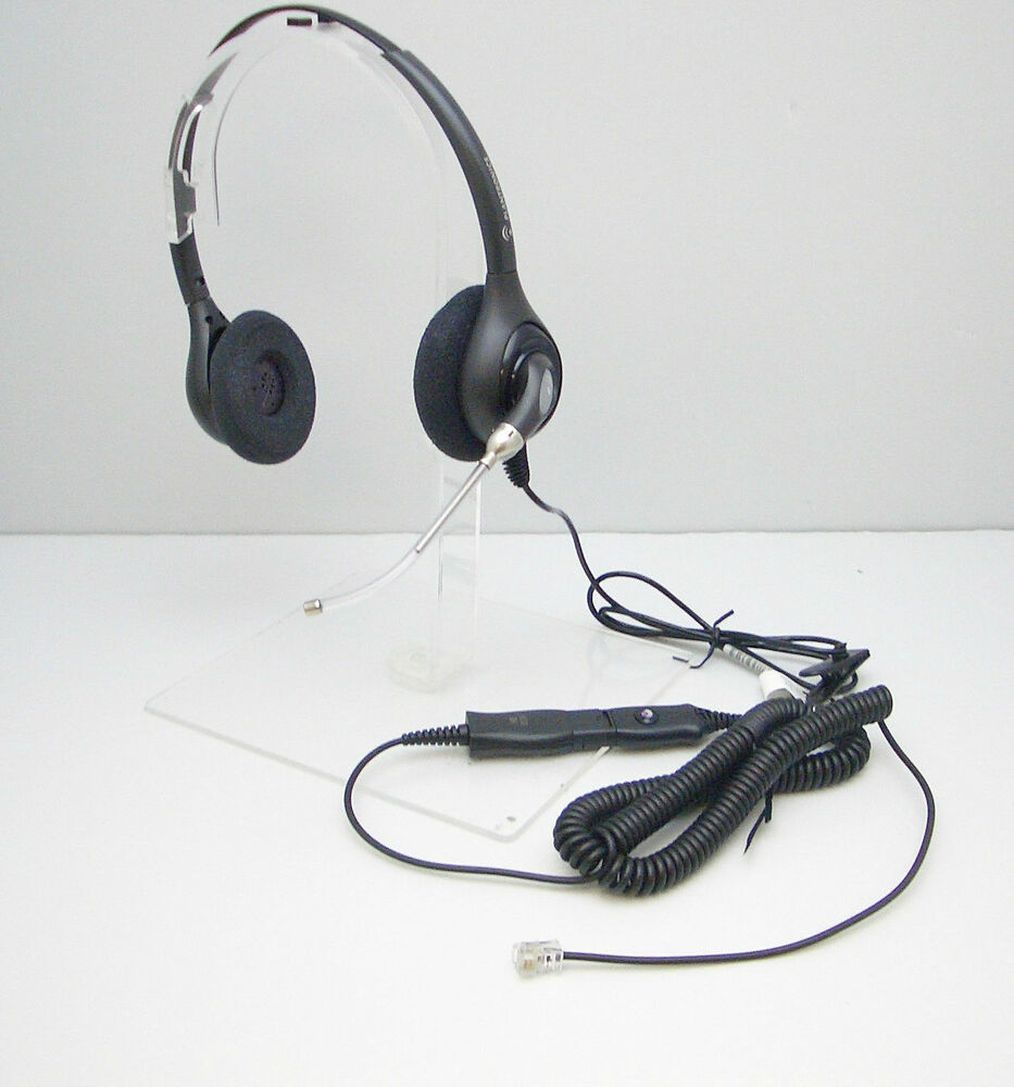 Plantronics Hw261 Headset His 1 Cable For Avaya 1608