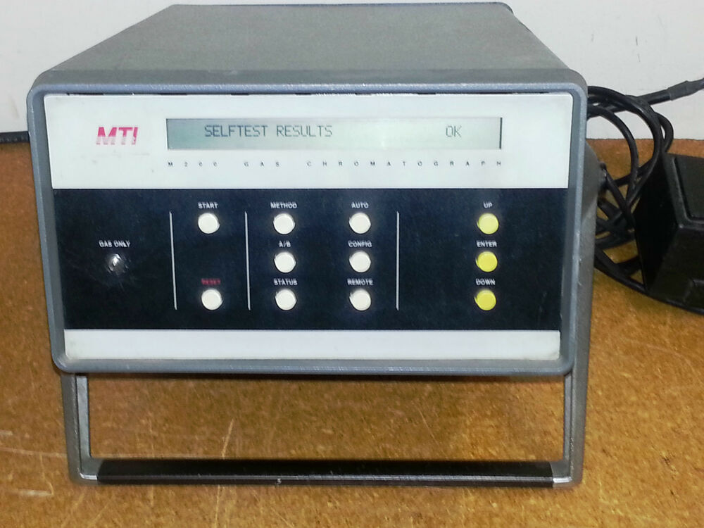 mti m200d portable micro gas chromatograph ebay. Black Bedroom Furniture Sets. Home Design Ideas