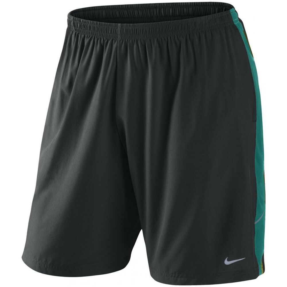 nike authentic men 39 s 9 inch dri fit running shorts size. Black Bedroom Furniture Sets. Home Design Ideas