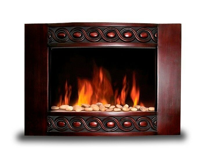 brand new 1500w deluxe wood wall mount electric fireplace