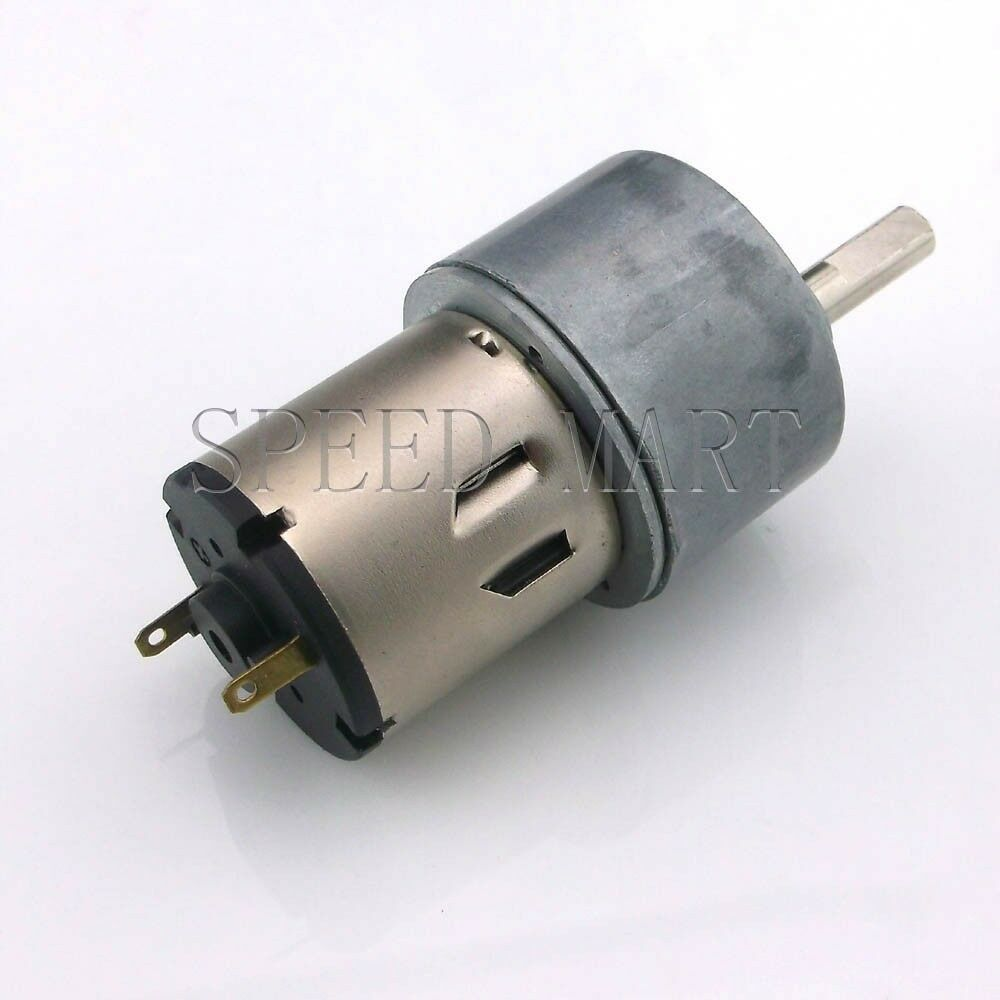 Gb37 reversible 37mm 12v dc 50 rpm gear box speed control for Speed controls for electric motors