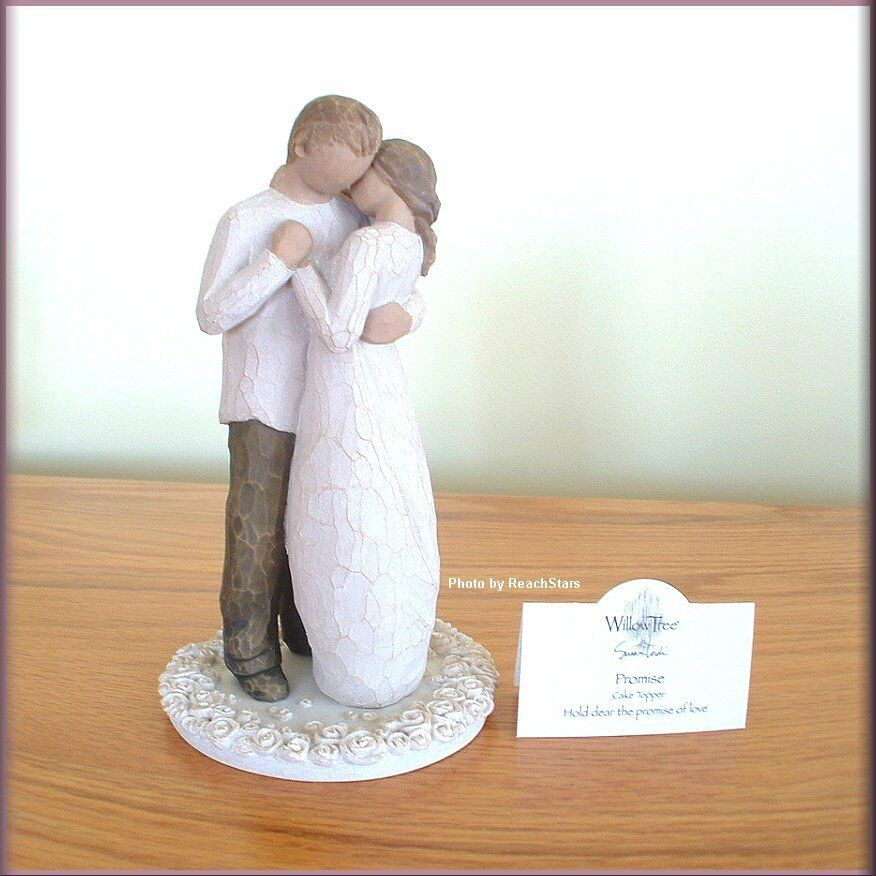 PROMISE CAKE TOPPER WEDDING FROM WILLOW TREE® ANGELS FREE