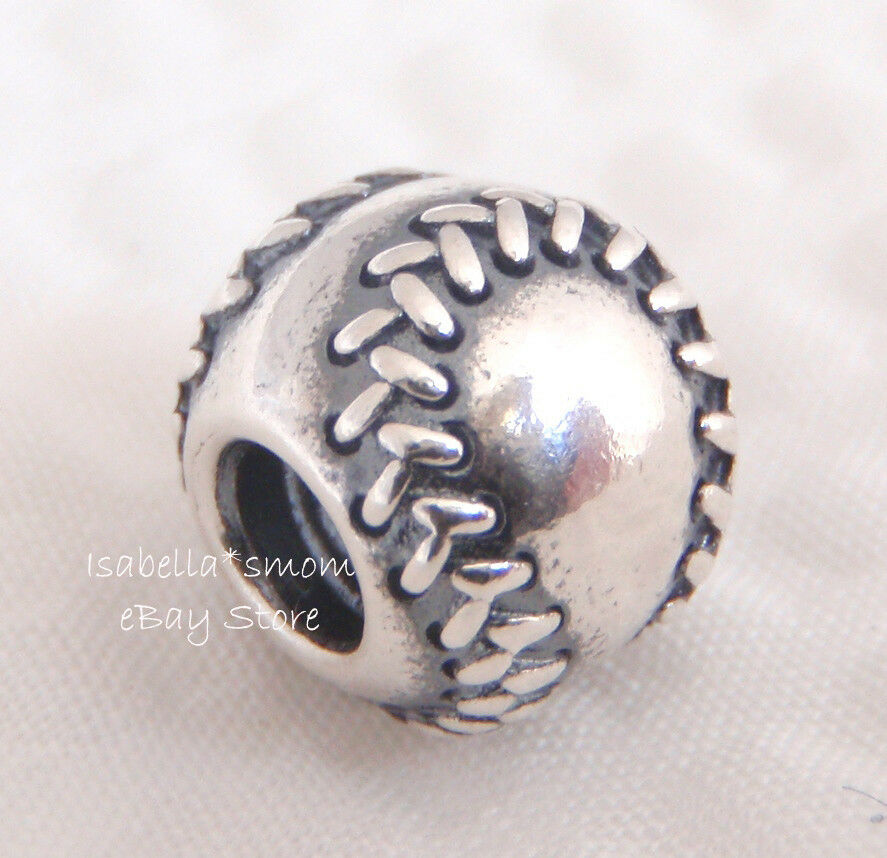 Baseball Authentic Pandora Sterling Silver Sports Charm