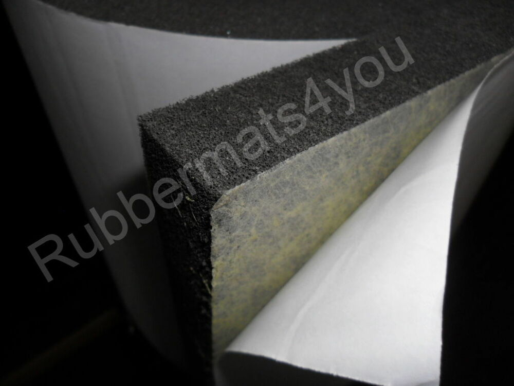 Self Adhesive Acoustic Soundproofing Fire Proof Class O